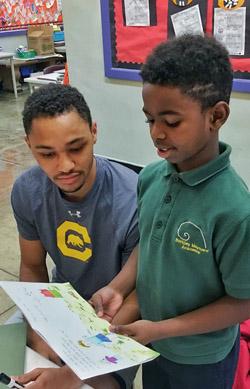Volunteers Help Oakland Third-Graders Improve Their Reading