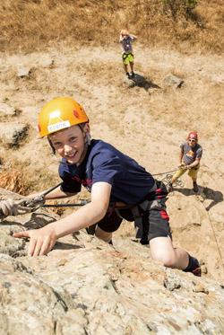 Summer Camps Let Kids Take Risks