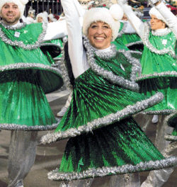 The Tapping Dancing Christmas Trees Spread Holiday Cheer Everywhere