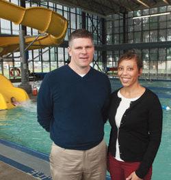In the Philanthropic Swim